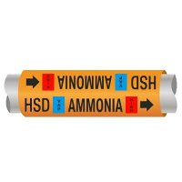 Ultra-Mark® Ammonia Pipe Markers - High Stage Discharge