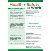 Workplace Health and Safety Poster