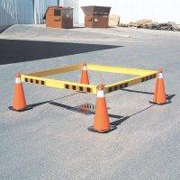 Barricone Barricade Panel - 6' Plain