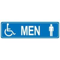 Restroom Signs - Men Handicap