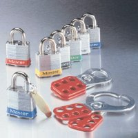 Individually Keyed Steel Master Lock Padlock