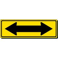 Reflective Traffic Signs - Directional Double Arrow