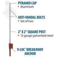 Tapco V-Lock Soil Post Anchors