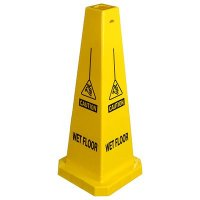 Safety Traffic Cones- Caution Wet Floor