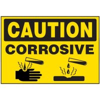 Chemical Labels - Corrosive