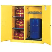 Justrite Double-Duty Safety Cabinet
