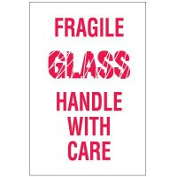 Fragile Glass Handle With Care Labels