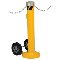 Movable Bollard With Slots
