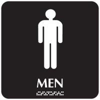 Optima ADA Men Restroom Signs