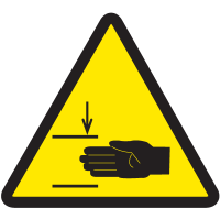International Symbols Labels - Mind Your Hands