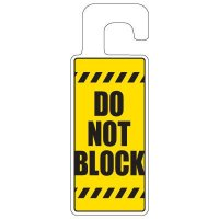 Door Knob Hangers - Do Not Block