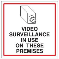 CCTV Warning Signs - Video Surveillance
