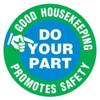 Anti-Slip Floor Markers - Good Housekeeping Promotes Safety