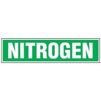 Chemical Labels - Nitrogen