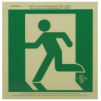 Running Man Signs - Left
