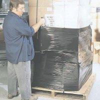 Black Pallet Wrap