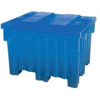 "Nesting Forklift Bin - 44""lx46""wx30""h - Blue"