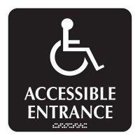 Accessible Entrance - Optima ADA Restroom Signs
