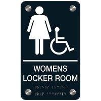 Women's Locker Room Sign - Accessibility