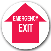 Emergency Floor Markers - Emergency Exit