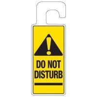 Door Knob Hangers - Do Not Disturb With Graphic