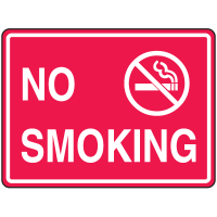 Extra Large Heavy Duty Facility Signs- Keep Out