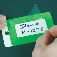 Self-Laminating Warehouse Tags