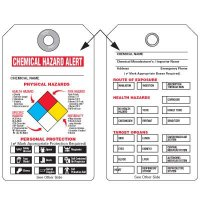 NFPA Tags - Chemical Hazard Alert