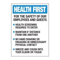 Employees & Guests Safety Decal