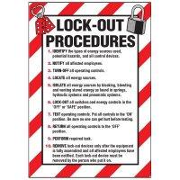 Lockout Procedure Labels