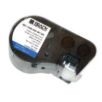 Brady M-143-427 BMP51/BMP41 Label Cartridge - Black on White/Clear