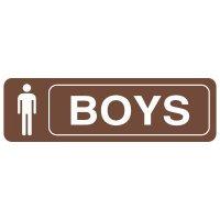 Restroom Signs - Boys