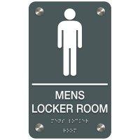 Men's Locker Room - Premium ADA Facility Signs