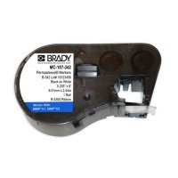 Brady MC-187-342 BMP53/BMP51 Label Cartridge - White