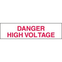 Setonsign® Value Packs  Danger High Voltage