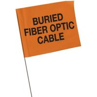 Marking Flags - Buried Fiber Optic Cable