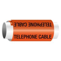 Telephone Cable - Snap-Around Electrical Markers