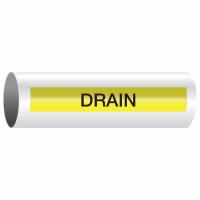 Opti-Code™ Self-Adhesive Pipe Markers - Drain