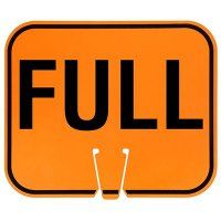 Traffic Cone Signs - Full