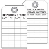Inspection Record White Tag