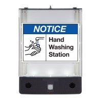 Seton Safety Sign Alerter Kit - Notice Hand Washing Station