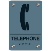 Telephone - Premium ADA Facility Signs