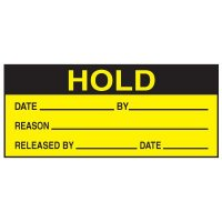 Write-On Action Labels - Hold