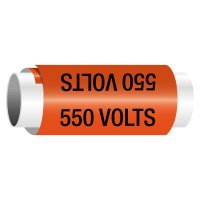 550 Volts - Snap-Around Electrical Markers
