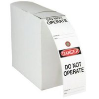 Safety Tag Rolls - Danger Do Not Operate