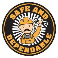 Safety Hard Hat Labels - Safe and Dependable