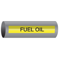 Xtreme-Code™ Self-Adhesive High Temperature Pipe Markers - Fuel Oil