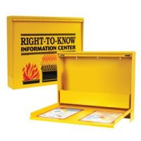 SDS Right-To-Know Metal Cabinet - Unfilled