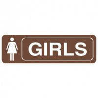 Restroom Signs - Girls