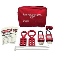 Zing® RecycLockout Lockout Tagout Kit for General Application
